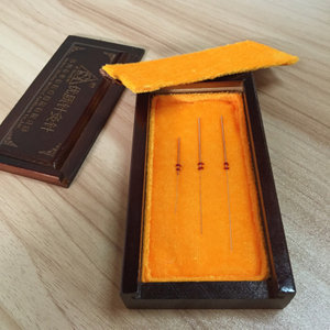 Shune brand pure gold and pure silver acupuncture needles