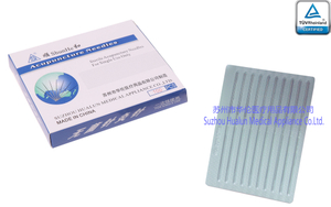 Disposable Sterile stainless steel flat handle acupuncture needles