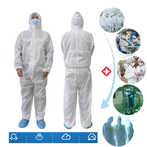 Covid-19 Protection Virus protection Personal Disposable Suit disposable Anti Bacterialothing Antibacterial Anti-Viruses Chemical Dust-proof protection Protective Gown
